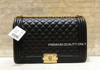 Leboy New Medium Chanel- black