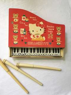 Vintage Collectible Hello kitty piano