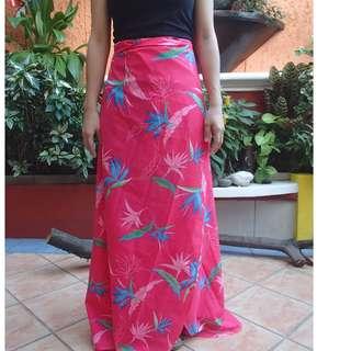 Wrap around Floral Skirt