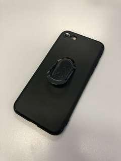 (包郵) iPhone 7/8細機 企架指環磁鐵三合一手機電話殼 Phone Case