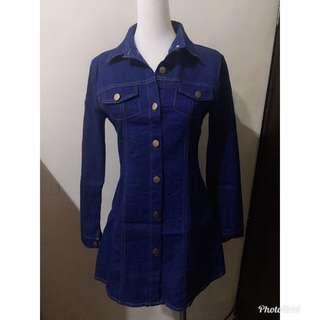 🚚 深藍牛仔洋裝