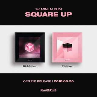 Blackpink square up album Incoming stock