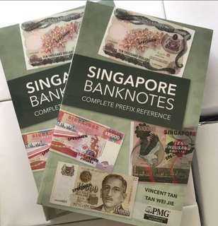 ⭐️ PMG Acknowledgement! Singapore 🇸🇬 Banknotes Complete Prefix Reference ⭐️