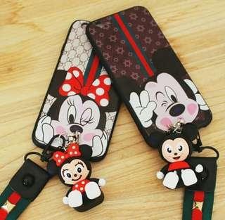 Disney case strap+ doll FREE ONGKIR