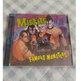 Misfits Famous Monsters cd