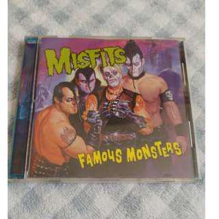 Misfits Famous Monsters cd