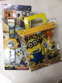Minions Bundle Stationery Set