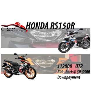 2018 Promotion For Brand New Honda RS150R !!!