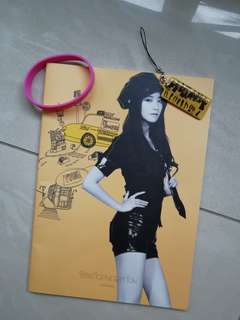 Girls Generation Notebook + Keychain + Wristband Set