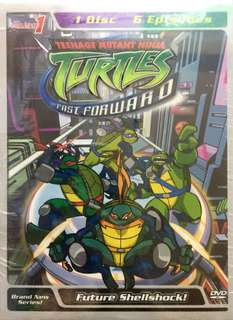 TEENAGE MUTANT NINJA TURTLES 4DVD