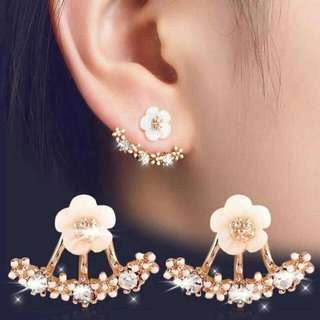 Daisy flower cute earrings