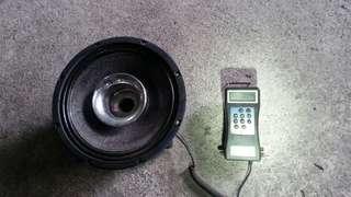 外場音響12吋喇叭整組,急用錢,降價求售。