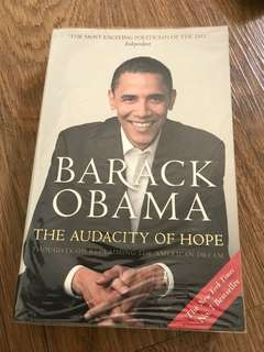 Barack Obama The Audacity of Hope