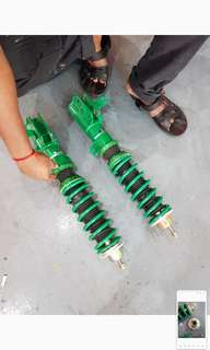 TEIN FLEX Z COILOVER for Honda Jazz 2nd generation GE.
