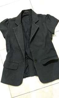 blazer Simplicity size 36 kantong hidup tangan model aga ngebalon