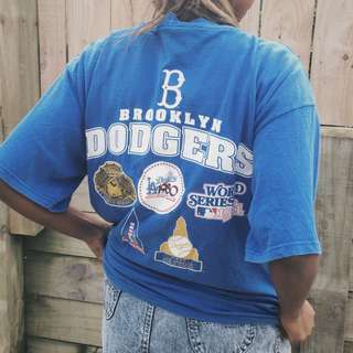 Vintage Brooklyn Dodges Champs Tee