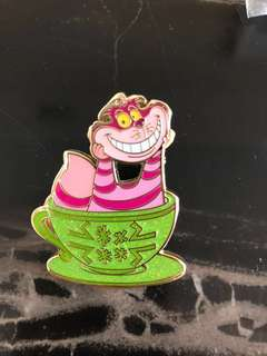 迪士尼 妙妙貓 徽章 襟章 Disney Cheshire Cat pin