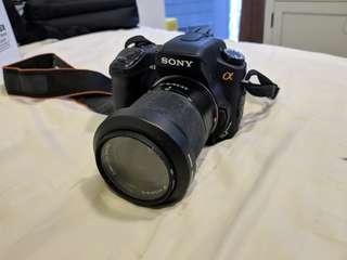 Sony a300 DSLR full set