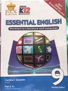 Essential English (rex book store) grade 9