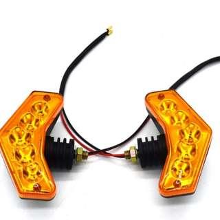 🚚 新款專利 LED方向燈 5W 1個價格LED 方向燈 酷龍 AIR 野狼 小雲豹 T1 愛將 SR cbr MY150