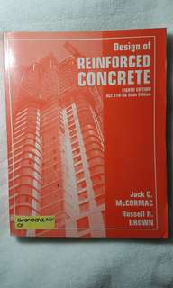 Design of Reinforced Concrete by McCormac and Brown