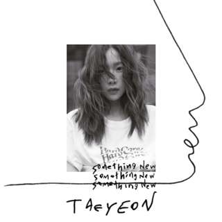 [PREORDER] Taeyeon 3rd Mini Album - Something New