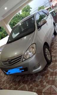 innova G 2011 for sale negotiable GAS