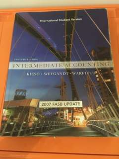 Intermediate Accounting 12th edition - Kieso, Weygandt, Warfield