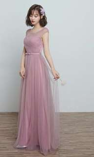 Bridesmaid/evening gown for rent(6pcs)