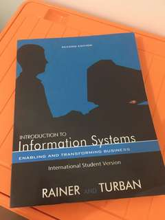 Introduction to Information Systems - Rainer & Turban