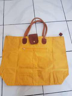 Lancome Yellow Shopping Bag