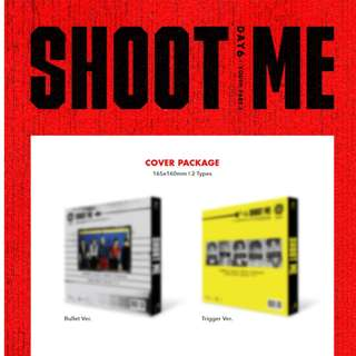 [DAY6 3rd Mini Album - Shoot Me : Youth Part 1
