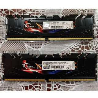 32GB (4 x 8GB) G.Skill Ripjaws 4 DDR4-2400 Desktop RAM