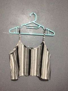 Top and bottom stripe