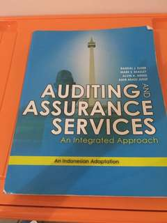 Auditing & Assurance Services - an Indonesian Adaption by Randal J Elder, Mark S Beasley, Alvin A Arens & Amir Abadi Jusuf