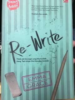 Novel re-write by emma grace