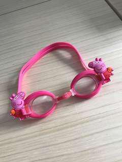 Peppa pig 泳鏡