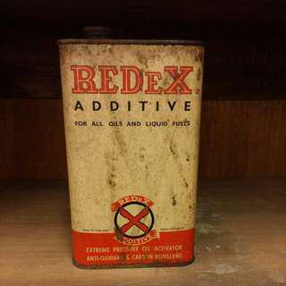 Vintage tin box Redex