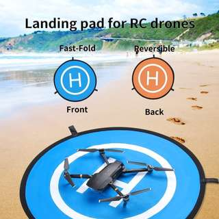 TELESIN Landing Pad for RC Quadcopter & Helicopters, Drones and Other UAVs ( 75cm / 110cm)
