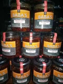 Baba's Chili Garlic Sauce
