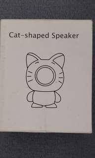 cat Shsped Speaker 橙色
