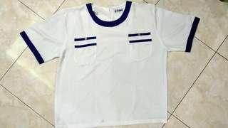 vintage shirt bhn satin LD 112