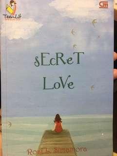 Novel secret love by Rosi L.Simamore