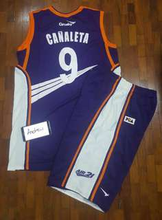 Cañaleta 9 Air 21 Express Game Issued Jersey