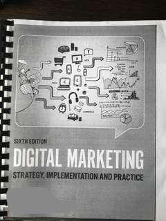 Digital Marketing Textbook