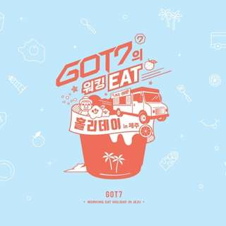 [PREORDER] GOT7 DVD - Working Eat Holiday in Jeju