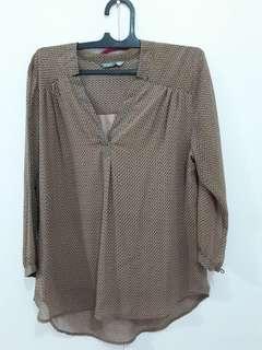 Noni fashion - brown strips