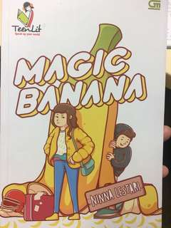 Novel magic banana by ninna lestari