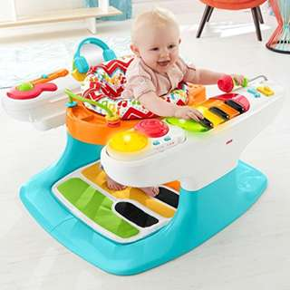 🚚 Fisher-Price 4-in-1 Step 'n Play Piano