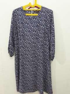 Noni fashion - purple cute dress